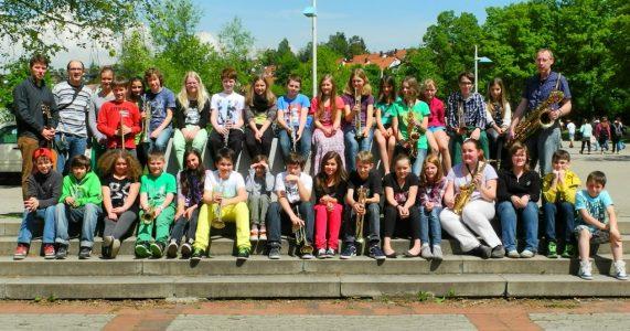 Unsere Bläserklasse an der REA Neckartenzlingen
