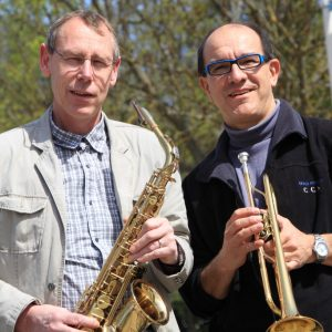 Rene Büttner und Gerd Clauss
