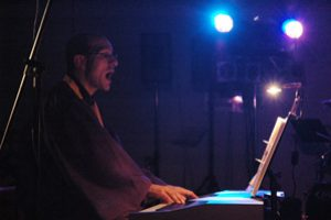 Gerd Clauss als Gospel Pianist