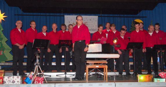 men at voice in Concert
