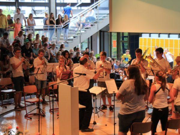 Unser Blasorchester an der Realschule Neckartenzlingen